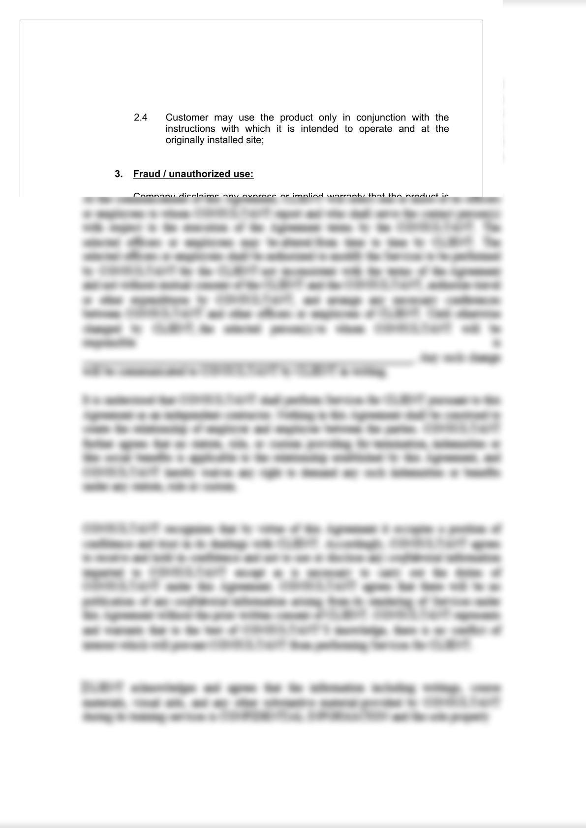 Product Warranty Document-4