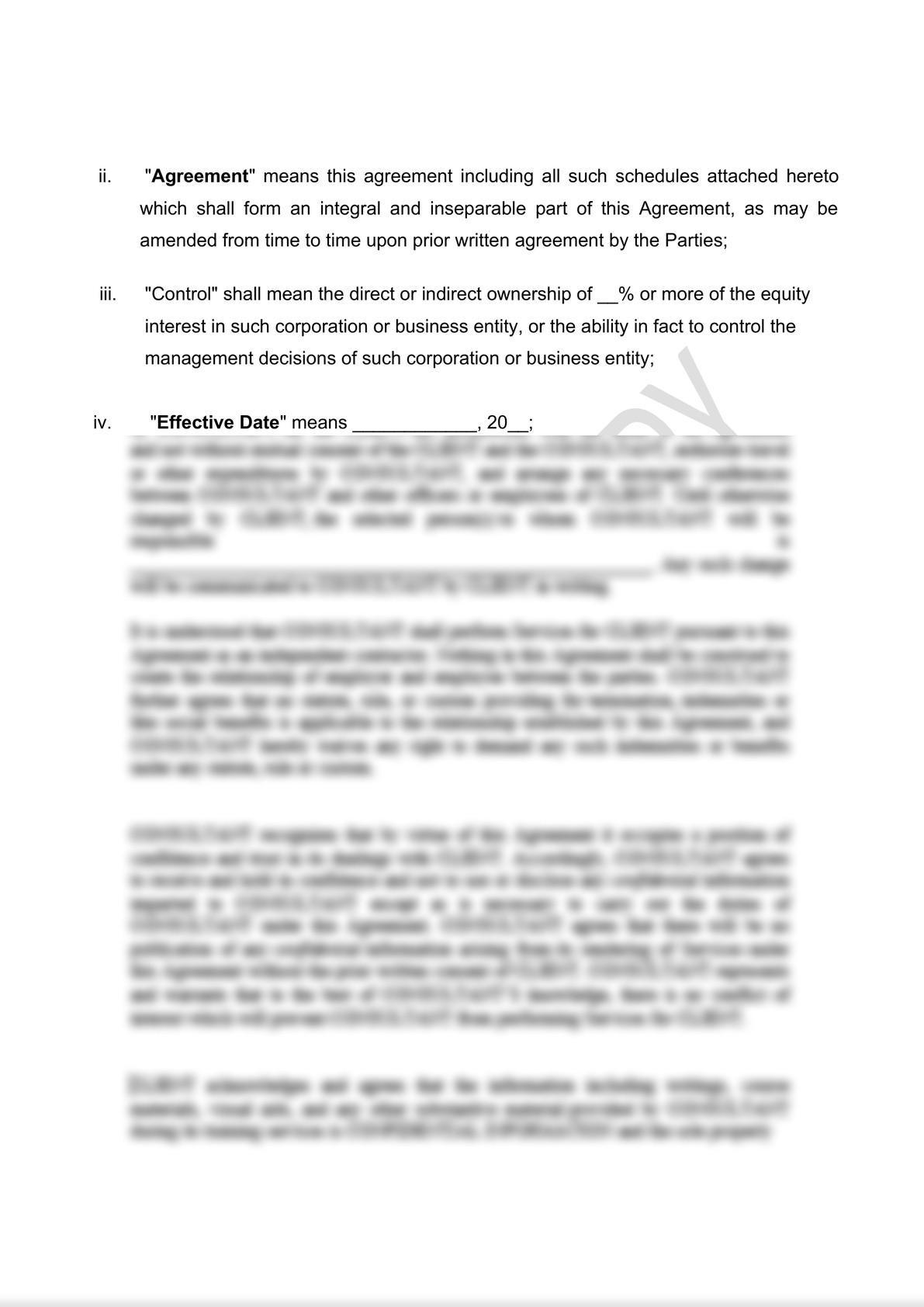 Distribution Agreement Draft (iii)-1
