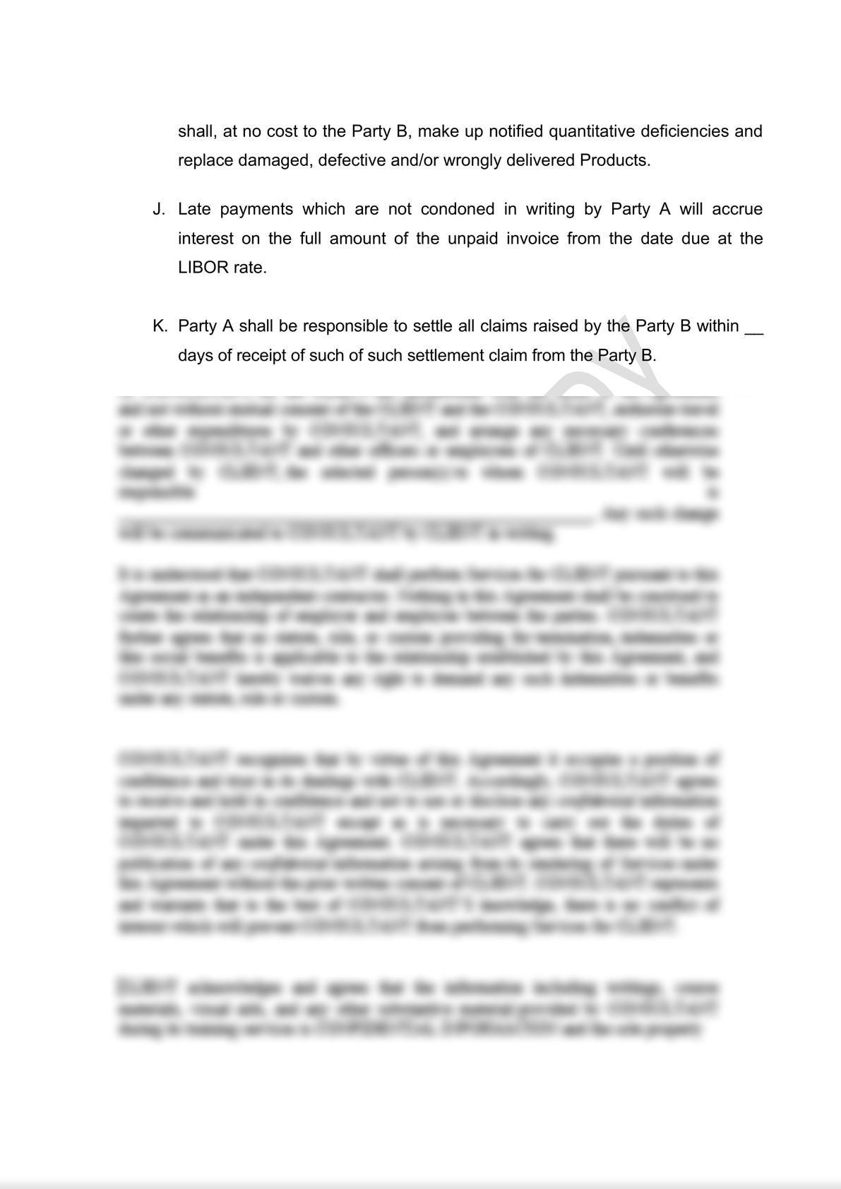 Distribution Agreement Draft (iii)-5