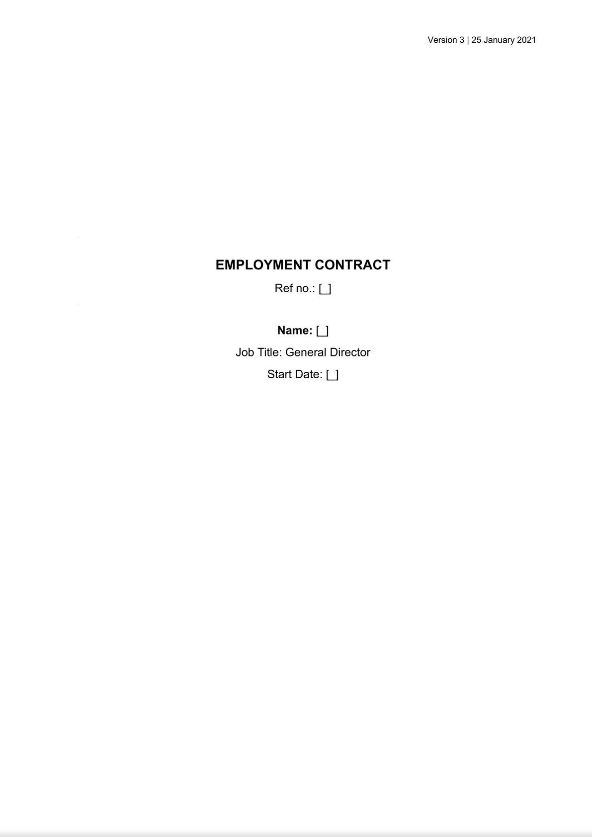 EMPLOYMENT CONTRACT-0