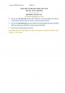 Principle Sale Contract