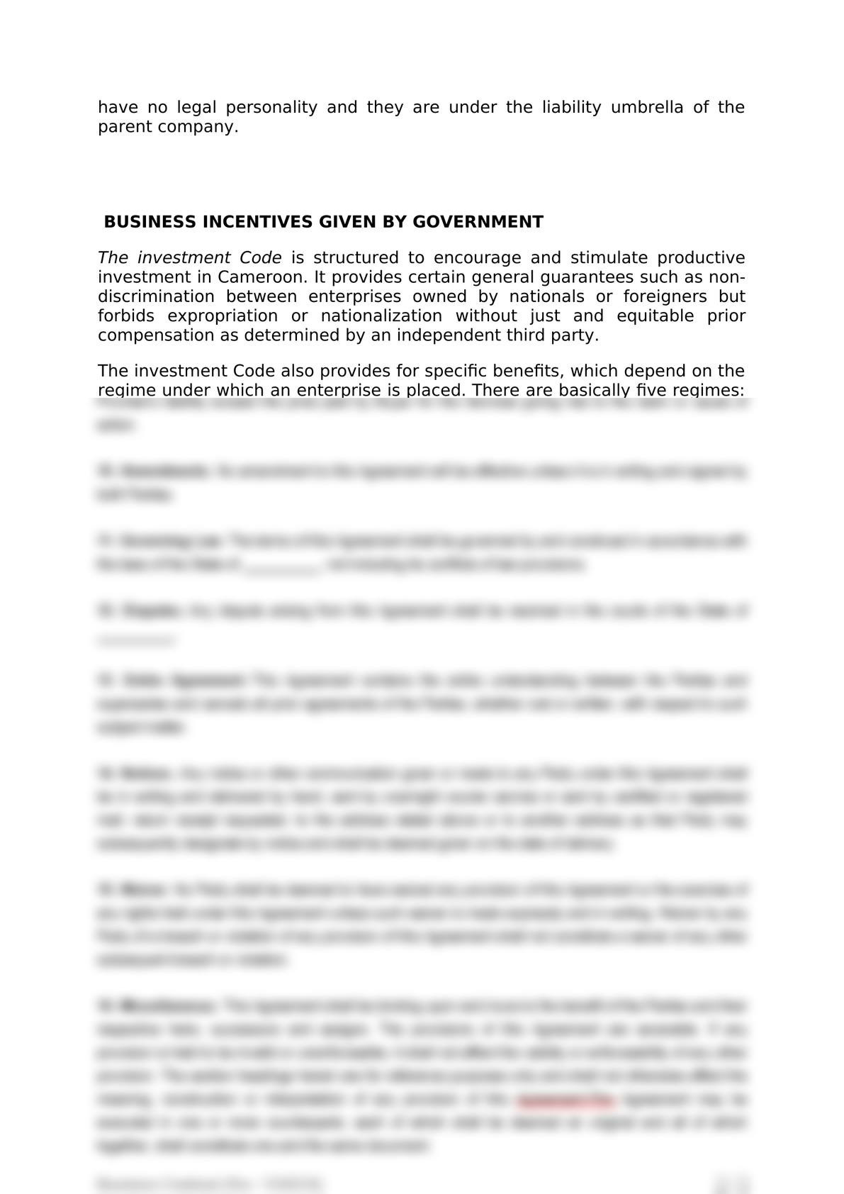 Doing business in cameroon over view-4