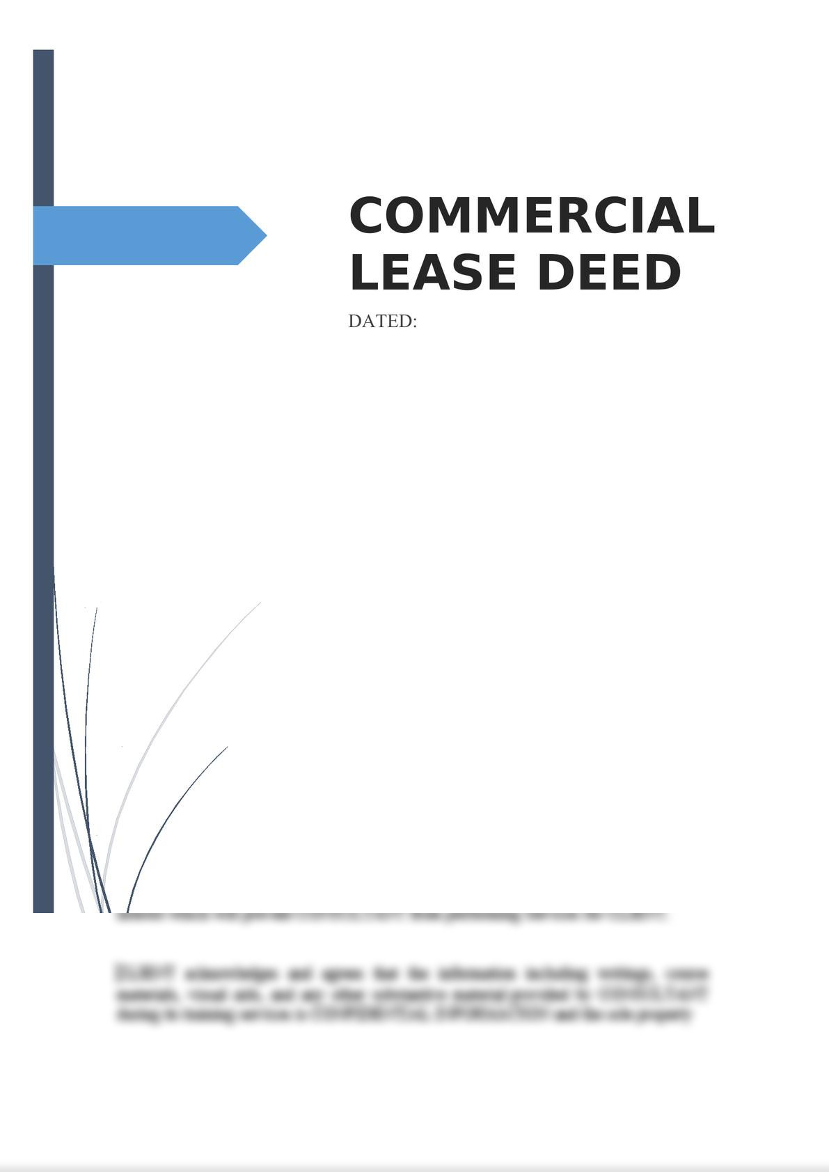 Commercial Lease Deed-0