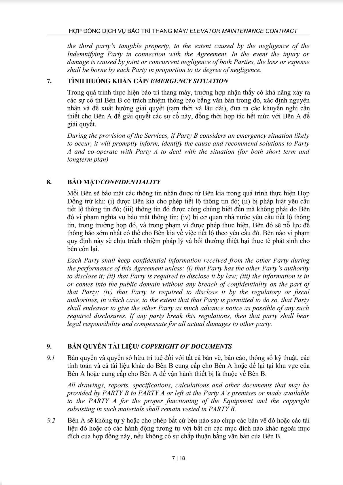 Maintenance Service Agreement-6