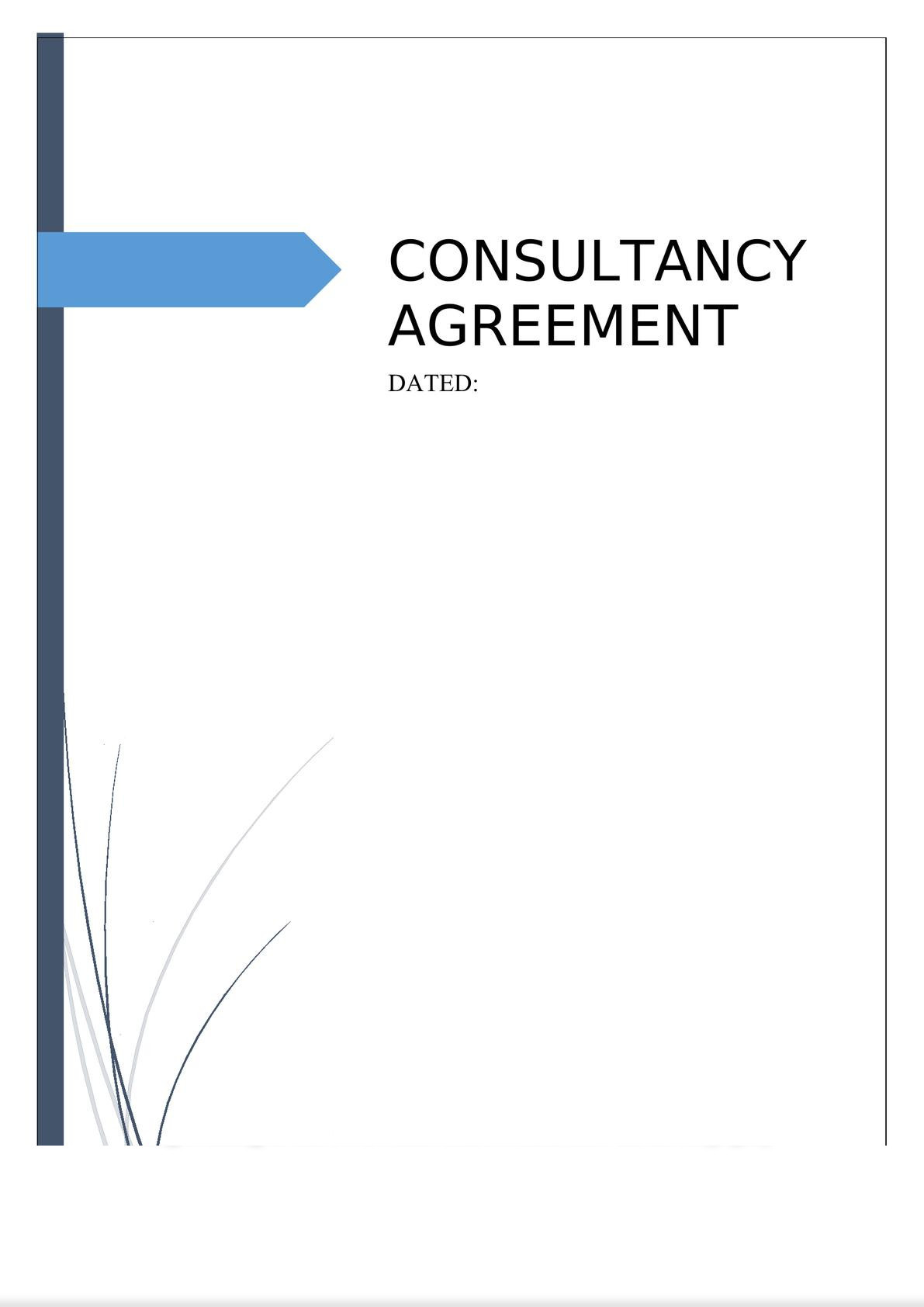 Consultancy Agreement-0