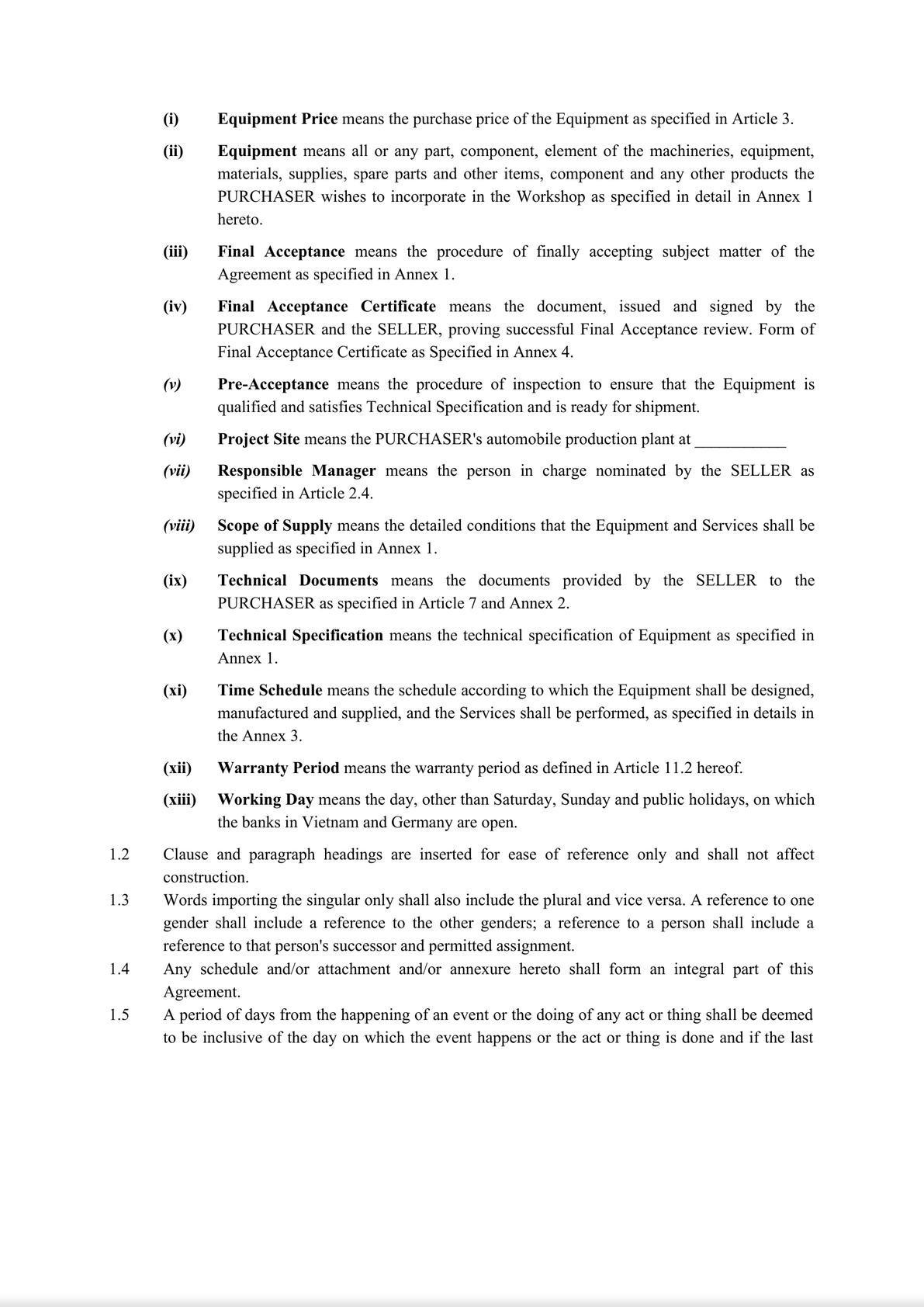 Equipment Agreement-3