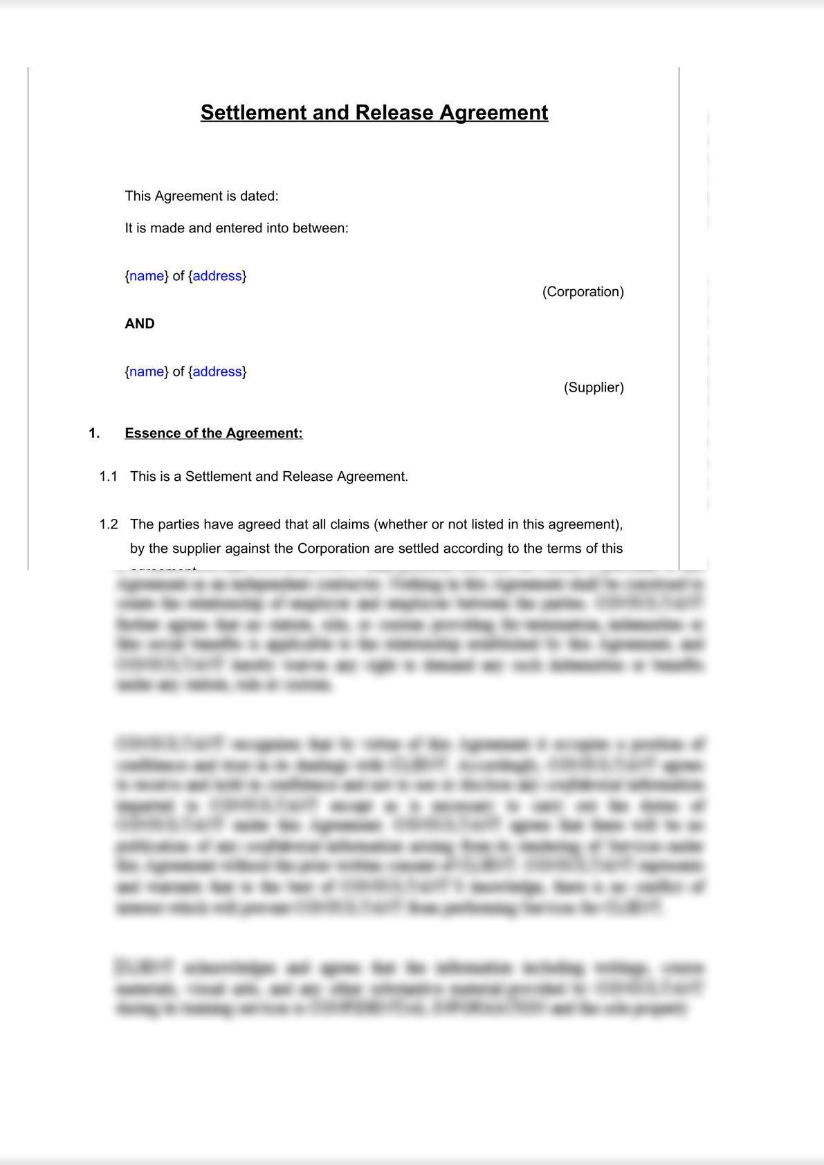 Settlement & Release Agreement-2
