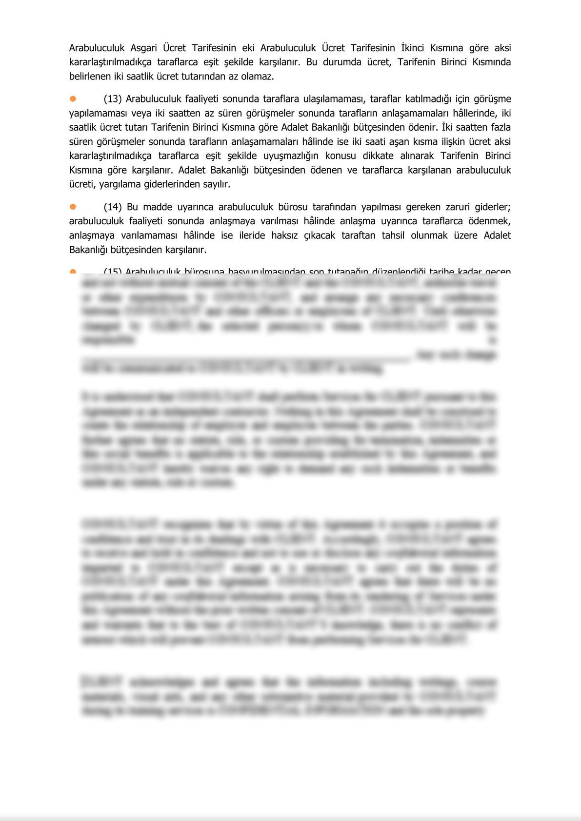 Minute of Informing Parties Before Mandatory Mediation for Commercial Disputes - Turkish-3