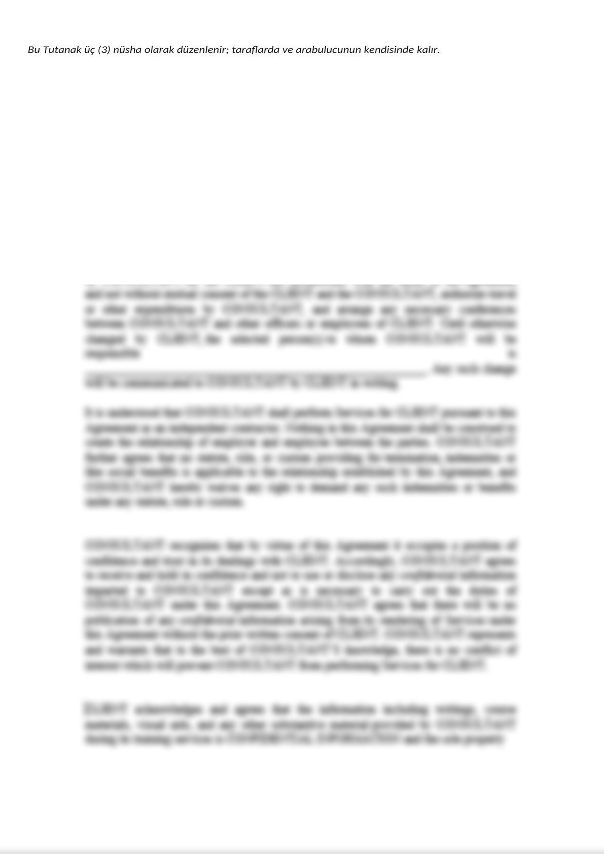 Minute of Informing Parties Before Mandatory Mediation for Commercial Disputes - Turkish-4