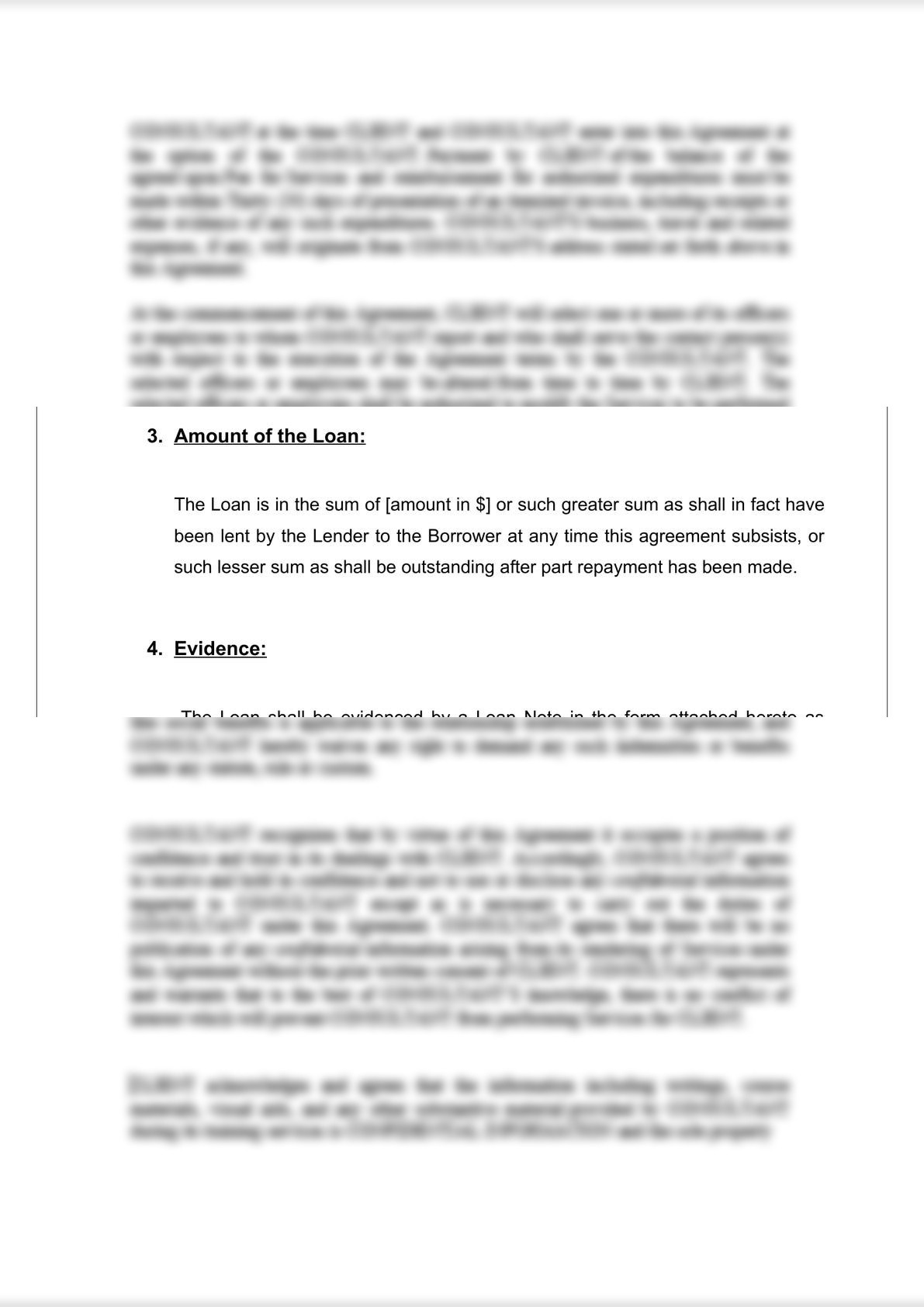 Loan Agreement (Secured)-3