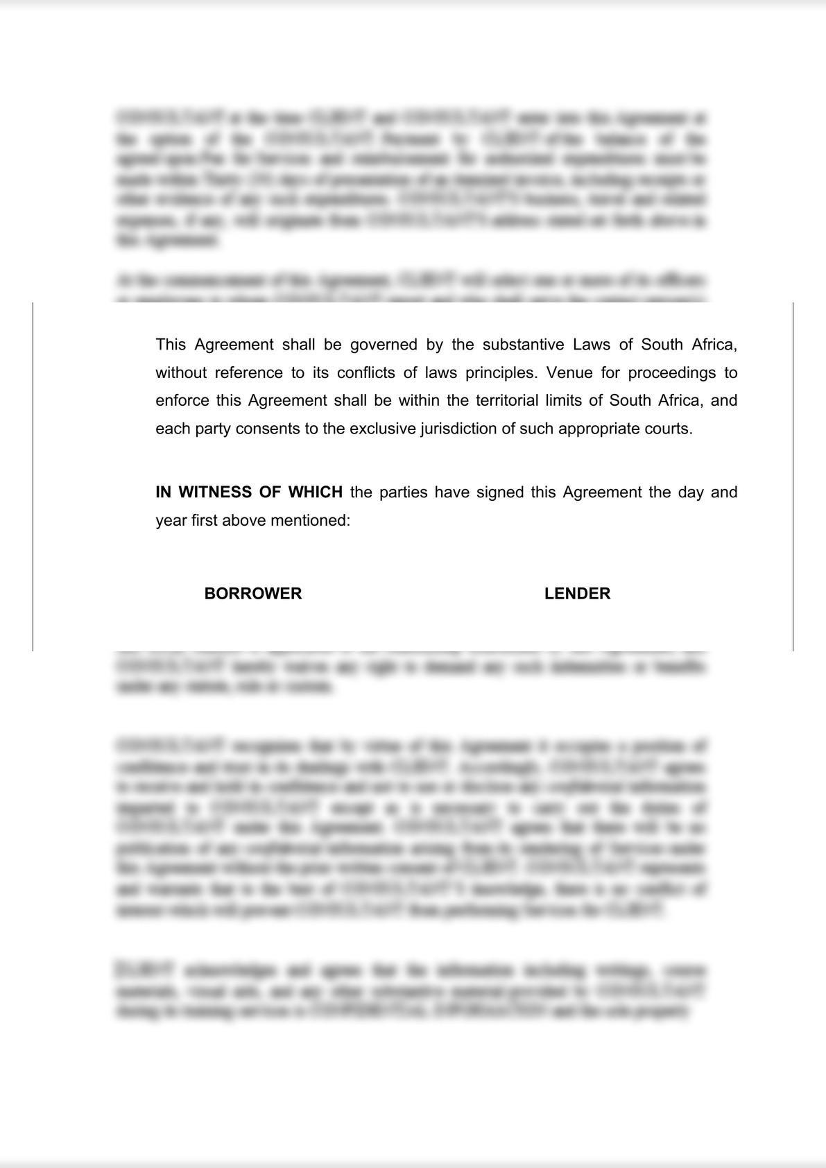 Loan Agreement (Secured)-7