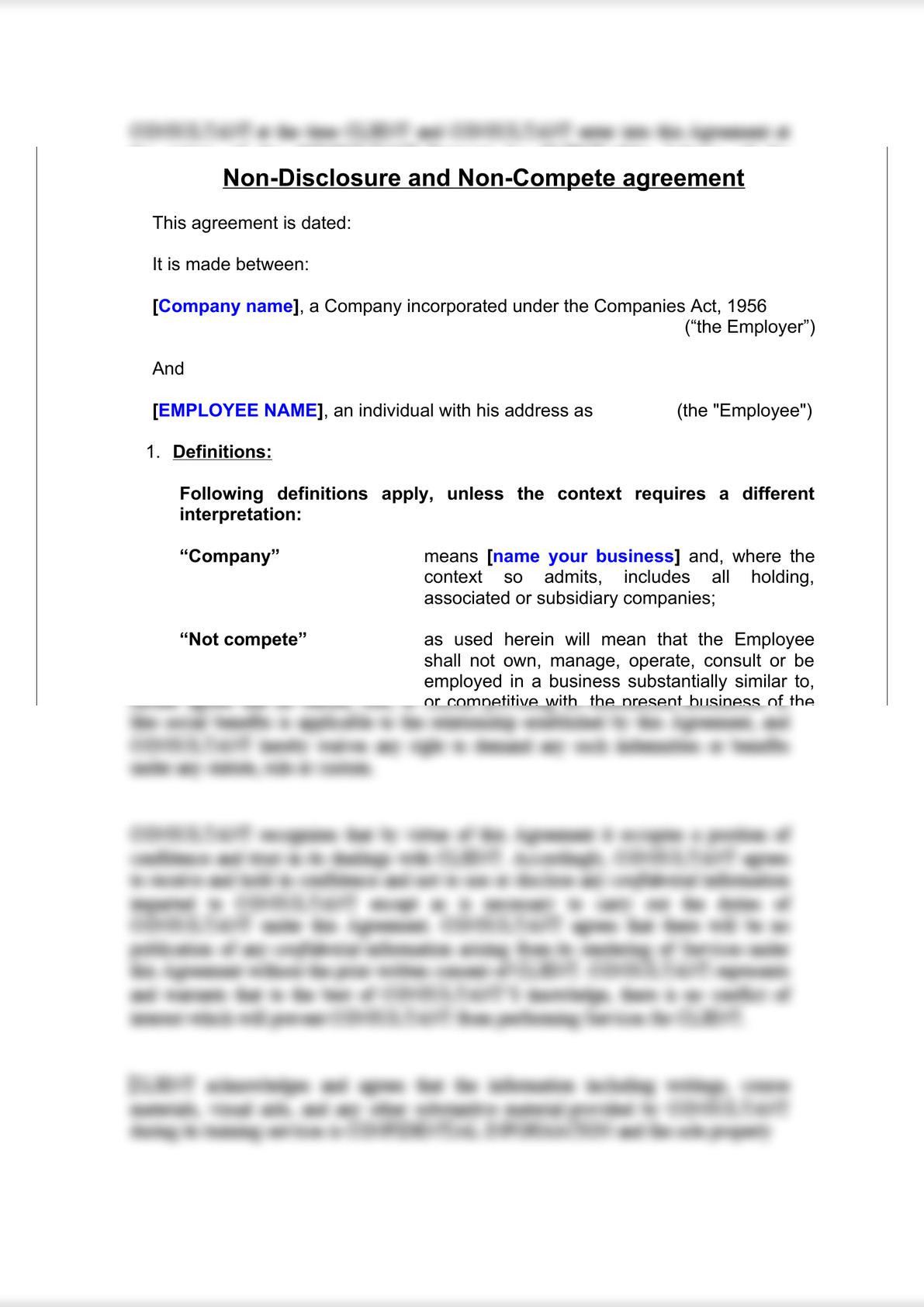 Non-Compete & Non-Disclosure Agreement-3