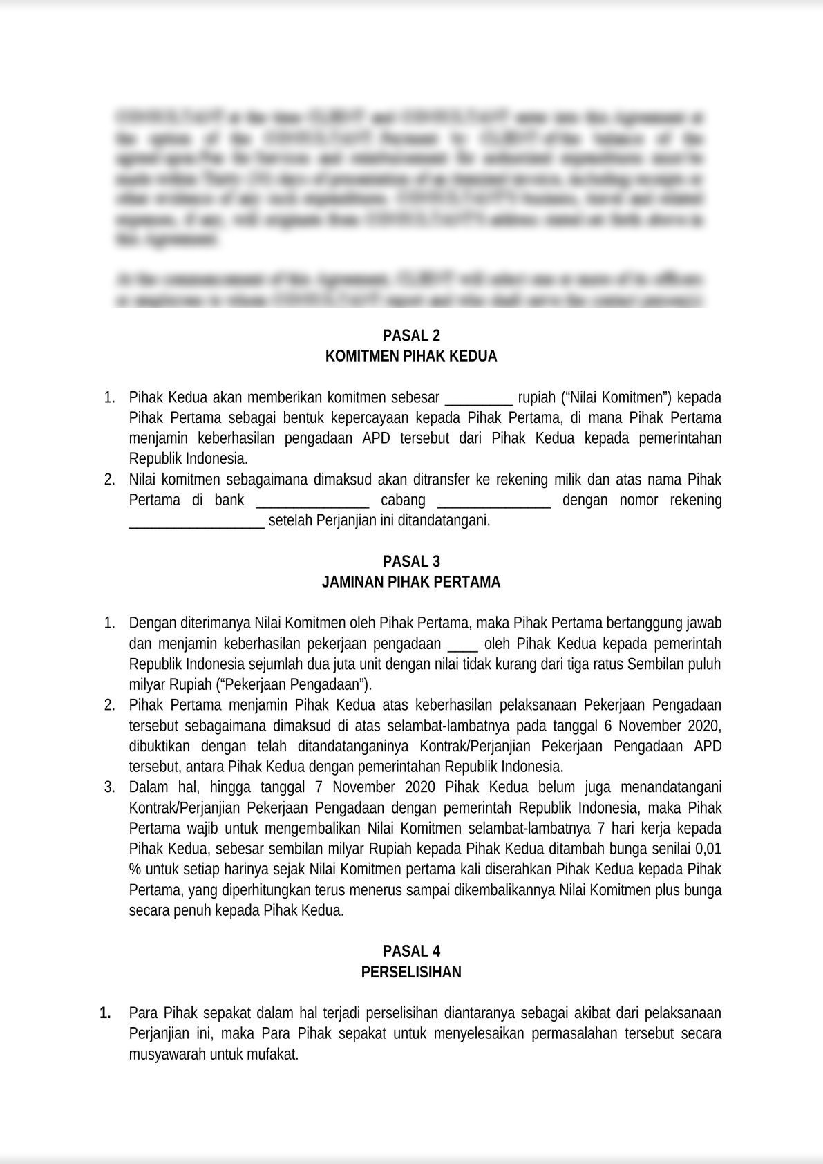 teaming agreement for government procurement template-0