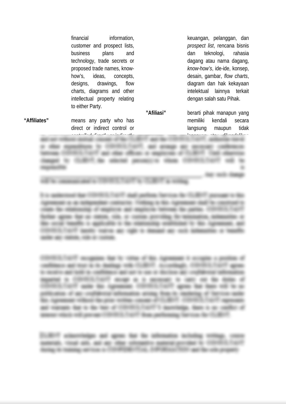 bilingual and mutual non disclosure agreement-1