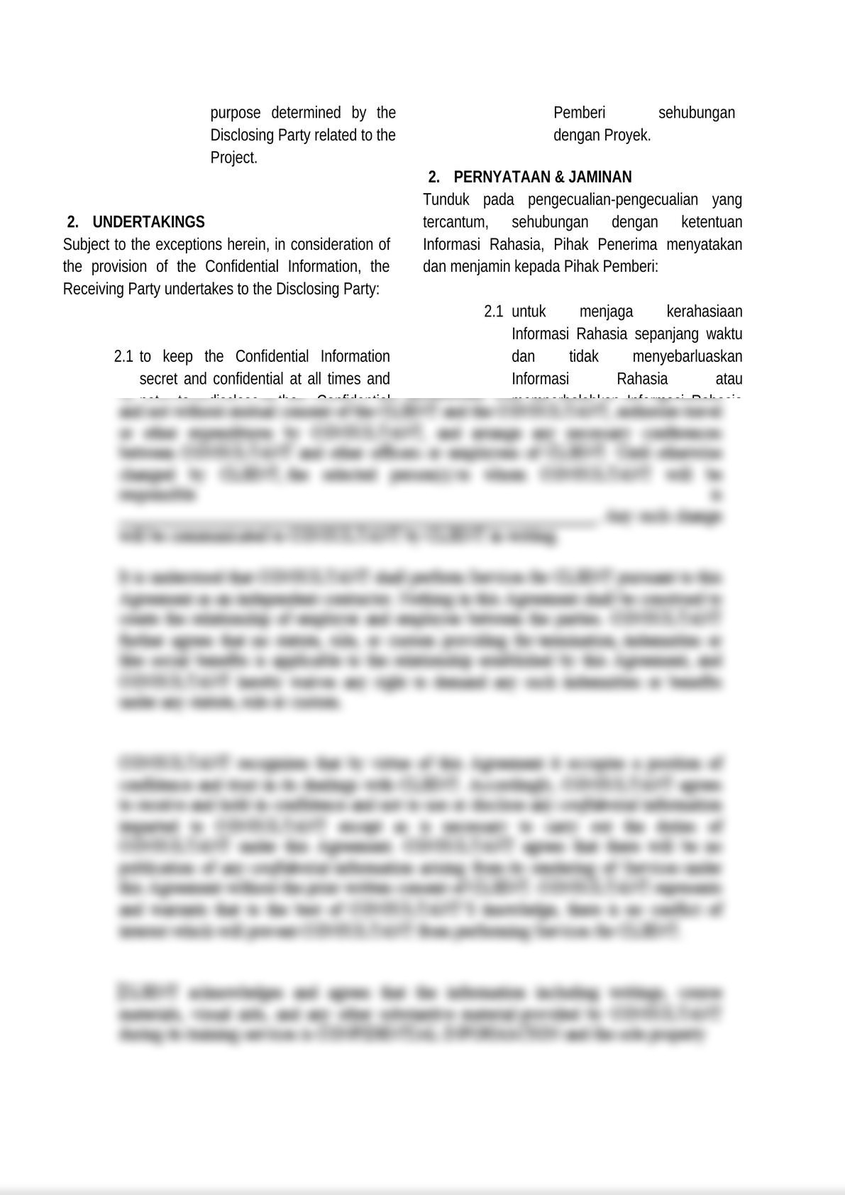 bilingual and mutual non disclosure agreement-2