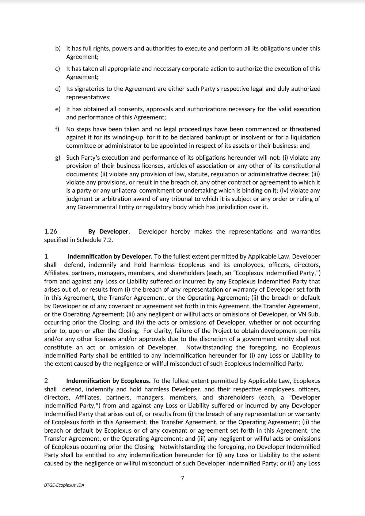 Mẫu Hợp Đồng Phát Triển Dự Án Liên Doanh   Form of Joint Venture Project Development Contract-2