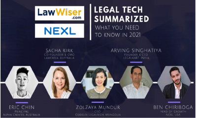 Legal Tech Summarized: What you NEED to know in 2021