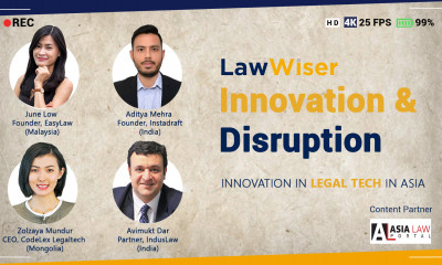 Law Wiser: Innovation in Legal tech in Asia